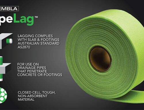 Kembla PipeLag – Lagging for drainage pipe